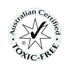 Australian Certified Toxic free