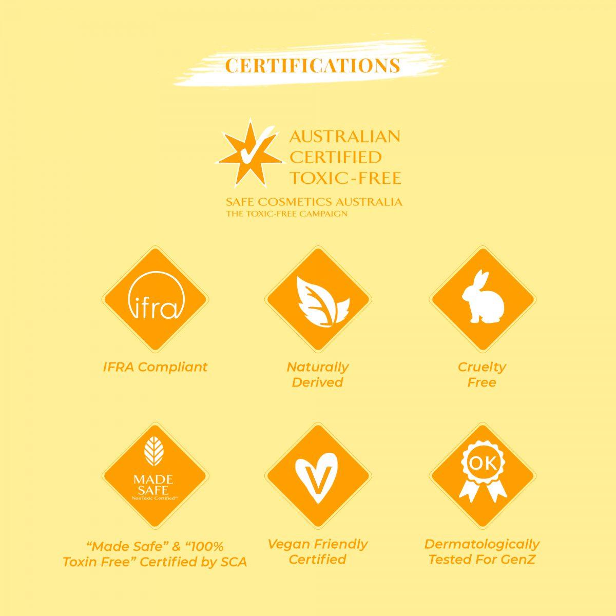 Certification Hurricane Deodorant