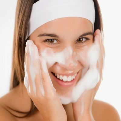 Step 3: Massage gently over your face and wash with cool water