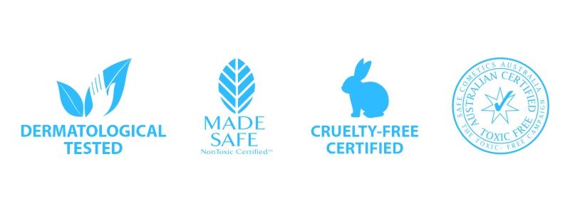 Flaxseed Hair Gel Toxin Free Certificate