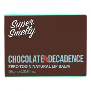 supersmelly lip balm chocolate | supersmelly lip balm chocolate review