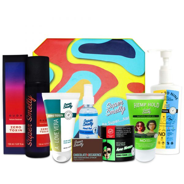 Buy supersmelly personal care gift sets   Buy supersmelly beauty gift hampers for her india