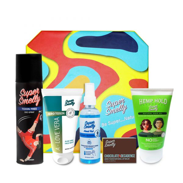 Buy supersmelly gift combos for her   Buy supersmelly skin care gift sets india   Buy supersmelly skin care gift pack