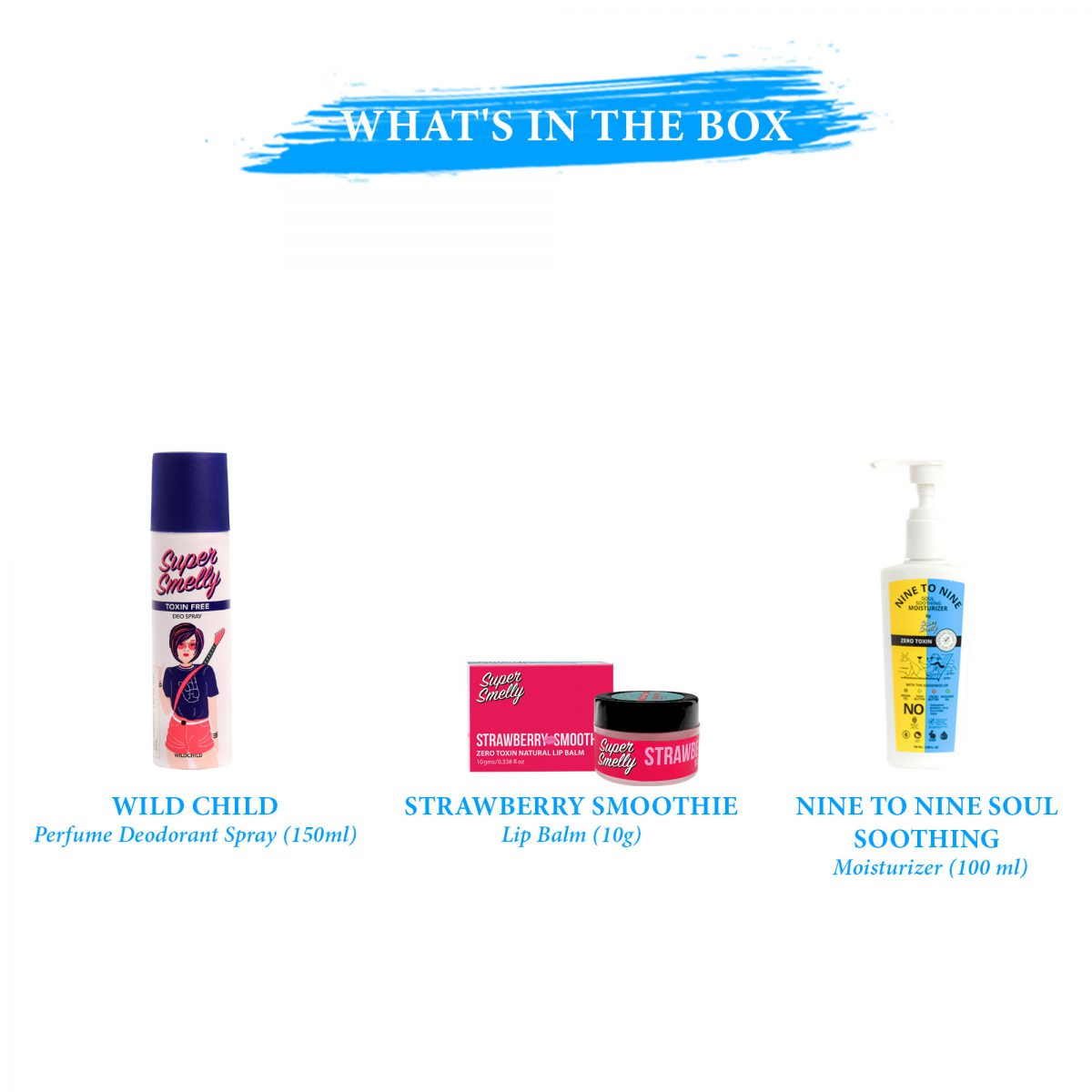 Buy supersmelly beauty gift hampers for her india | Buy online supersmelly gift combos for her