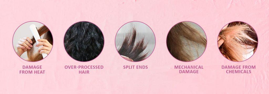 types-of-hair-damage