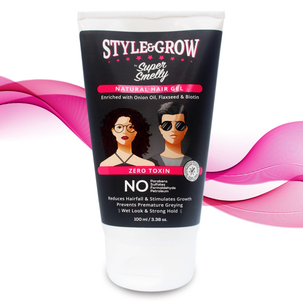 Style&Grow Onion Hair Gel 100% Toxin Free & Natural, 100ml    organic hair gel   natural hair styling gel   natural hair gel   hair gel   natural gel for hair   gel hair styling gel   natural hair gel for men   hair gell   hair gel for women   organic hair spray