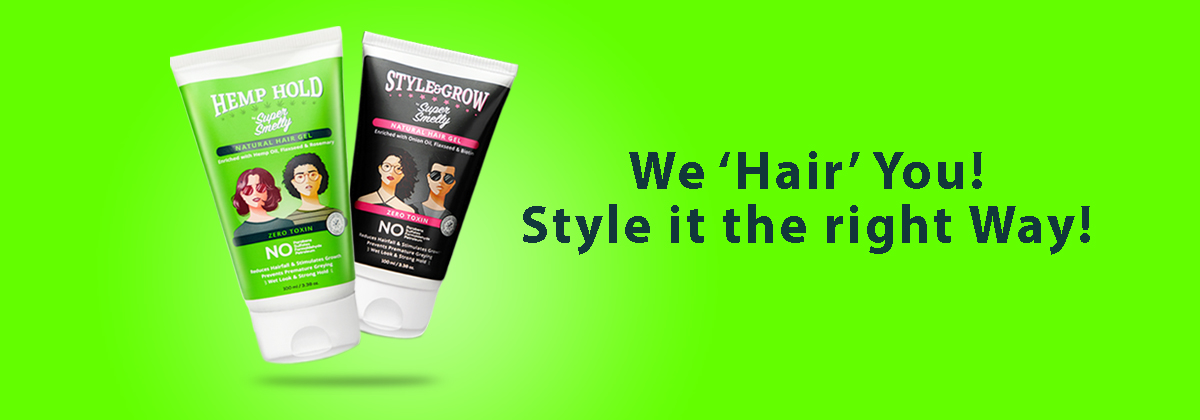How To Style Your Hair With Styling Hair Gel | Best Natural hair gel for women | best hair gel for men in india | aloe vera gel for hair