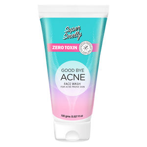 supersmelly Goodbye Acne Face Wash | anti acne face wash | best acne scar removal products | best face wash for acne